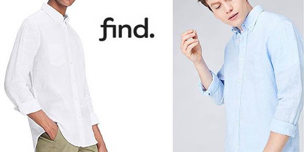 camisa manga larga lino Find relación calidad-precio brutal