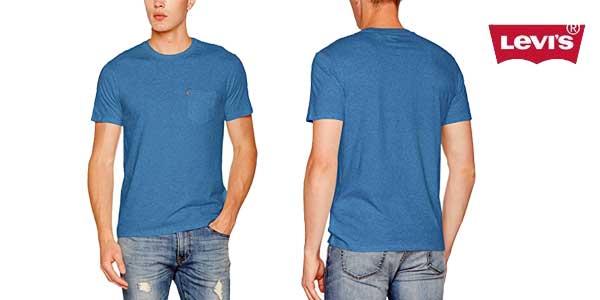 Camiseta Levi's Sunset Pocket barata en Amazon Moda