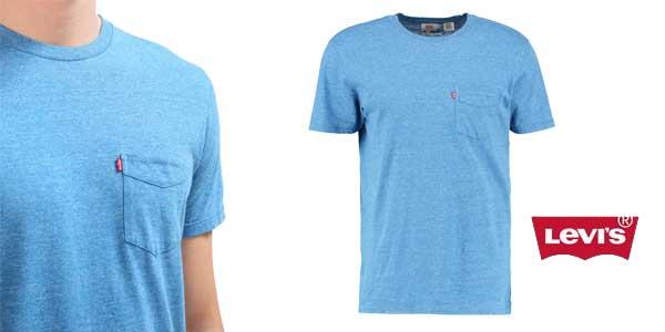 Camiseta Levi's Sunset Pocket chollo en Amazon Moda