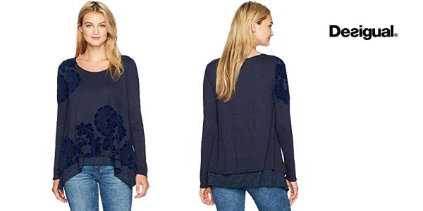 Camiseta Desigual Samy barata en Amazon Moda