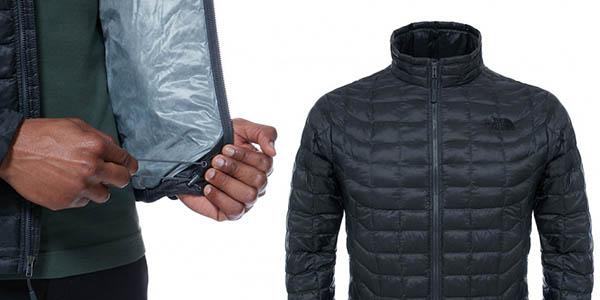 chaqueta acolchada The North Face M Thermoball Full Zip ligera y compacta barata