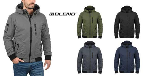 Chaqueta de invierno BLEND Marc para hombre en 5 colores barata en Amazon Moda