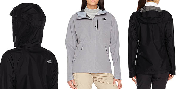 chaqueta senderismo The North Face W Dryzzle transpirable impermeable