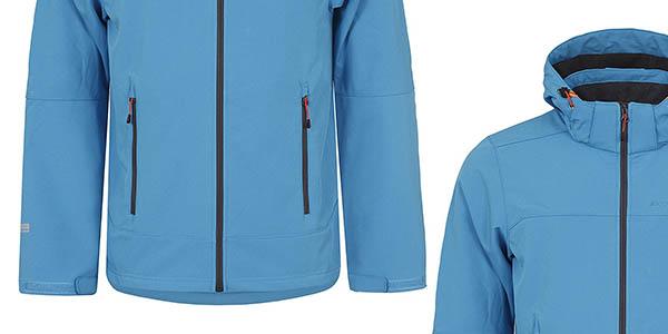 chaqueta softshell para hombre Icepeak Lennox relación calidad-precio brutal
