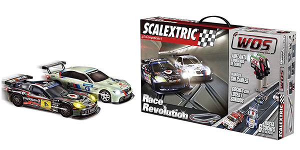 Circuito Scalextric Race Evolution con mandos inalámbricos