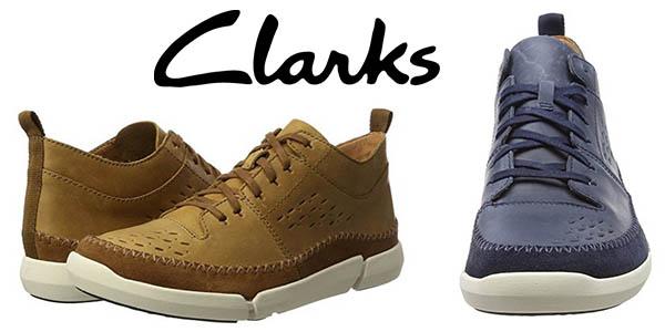 Clarks Trifri Hi botines para hombre diseño casual chollo