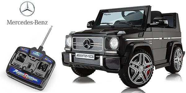 coche Mercedes Benz AMG G65 con control remoto PLayKin cupón descuento PNAVIDAD10 eBay