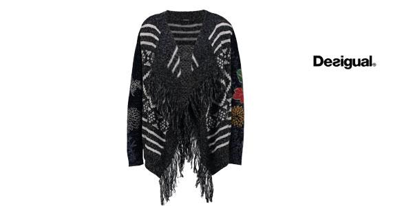 Jersey de tricot Desigual Sally barato en Amazon Moda
