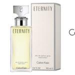 Eau de parfum Eternity Calvin Klein para mujer de 100 ml chollo en Amazon España
