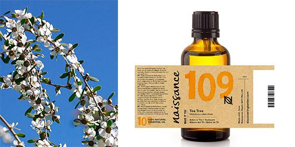 Frasco de aceite esencial del Árbol del té de Naissance (50 ml) barato