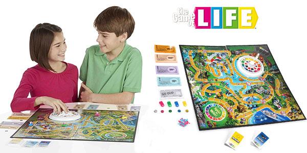 Juego de mesa Game of Life de Hasbro barato