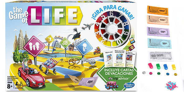 Juego de tablero Game of Life de Hasbro rebajado