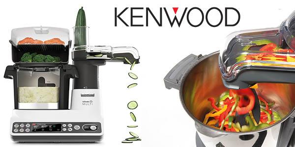 Chollo flash robot de cocina kenwood kcook multi ccl401wh - Robot cocina amazon ...