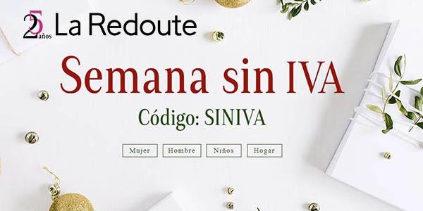 La Redoute semana Sin IVA diciembre 2017