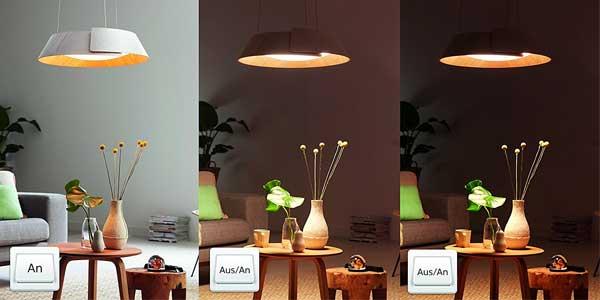 Philips InStyle Nonagon - Lámpara de techo colgante LED chollo en Amazon