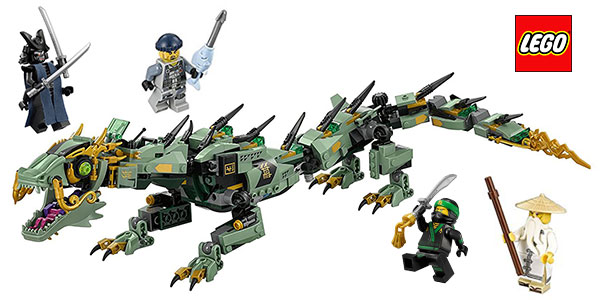 Set LEGO Ninjago Dragón Mecánico Ninja Verde barato