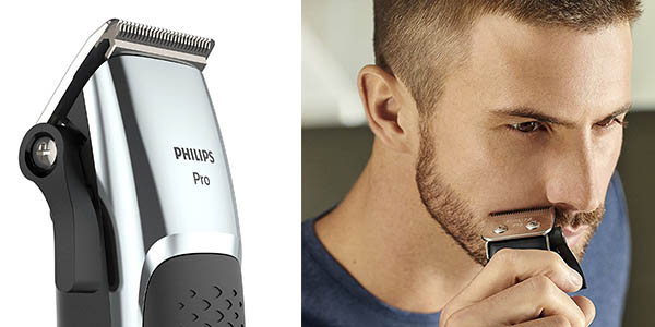 máquina cortapelos y barba con 7 peines guía Philips Series 500 HC5100/15