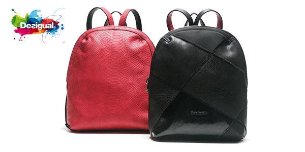 Bolso mochila Desigual Madeira Cougar para mujer barata en Amazon
