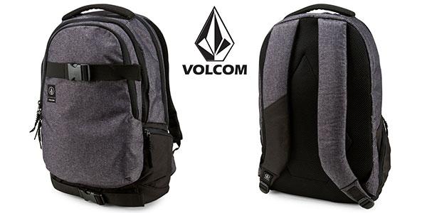 Mochila Volcom Vagabond de 35 litros en color negro rebajada