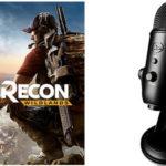 Micrófono Blue Blackout Yeti + Tom Clancy's Ghost Recon Wildlands