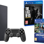 Pack PS4 Slim + The Last of Us + Horizon Zero Dawn Complete + Uncharted Collection
