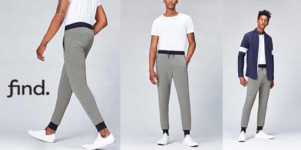 FIND Pantalones Estilo Jogger para hombre chollo en Amazon Moda