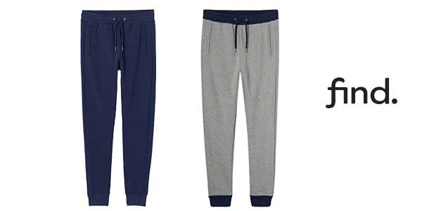FIND Pantalones Estilo Jogger para hombre baratos en Amazon Moda