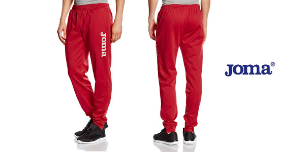Pantalones deportivos Joma Suez para hombre o niño chollo en Amazon
