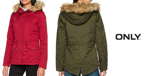 Parka Only Kate mujer barata Amazon