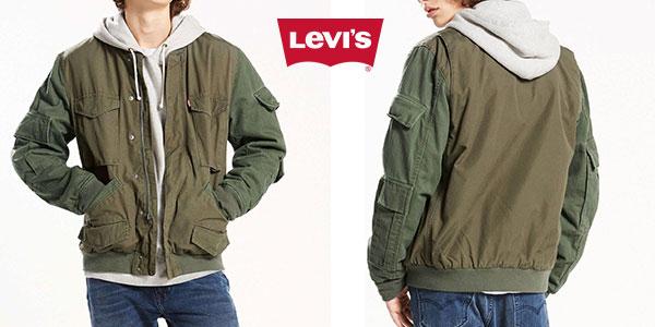 Levi's Pieced Bomber de color verde oliva para hombre al mejor precio