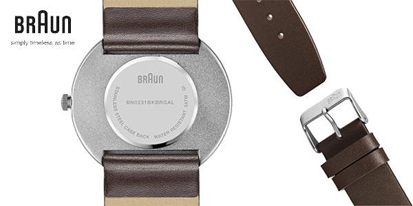 Reloj Braun BN0231BKBRGAL chollazo en Amazon Moda