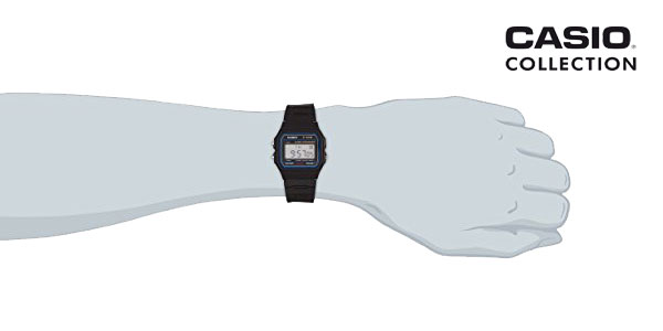 Reloj Casio F-91W-1YER chollo en Amazon