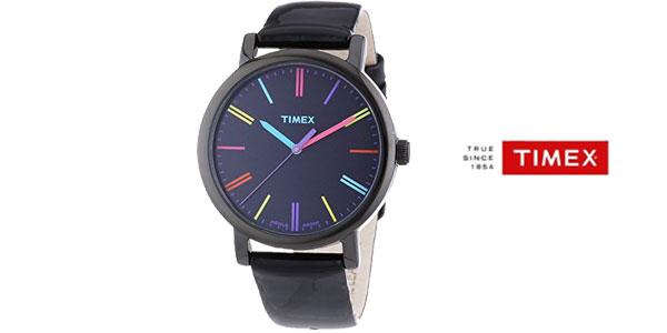 Reloj analógico Timex T2N791 con correa de cuero para mujer chollazo en  Amazon Moda 5cdf6e73b4ca