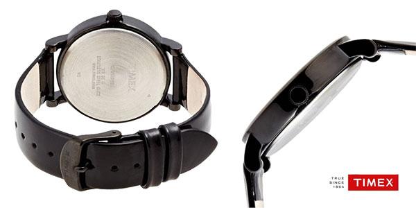 Reloj analógico Timex T2N791 con correa de cuero para mujer chollo en  Amazon Moda 059a4c492856
