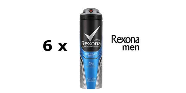 Rexona Desodorante Cobalt - 200 ml [Pack de 6] barato en Amazon