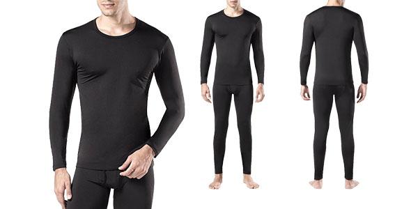 Kit de ropa térmica LAPASA (Camiseta y pantalon) en 3 colores para mujer u hombre chollo en Amazon España