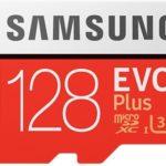 Tarjeta microSD Samsung EVO Plus de 128 GB