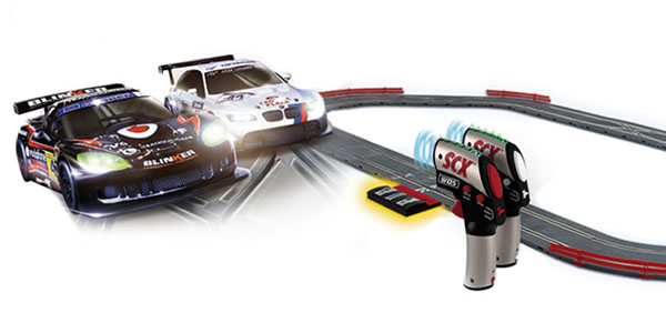 Scalextric Race Evolution circuito para coches Wireless barato