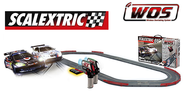 Scalextric Race Evolution circuito WOS chollo