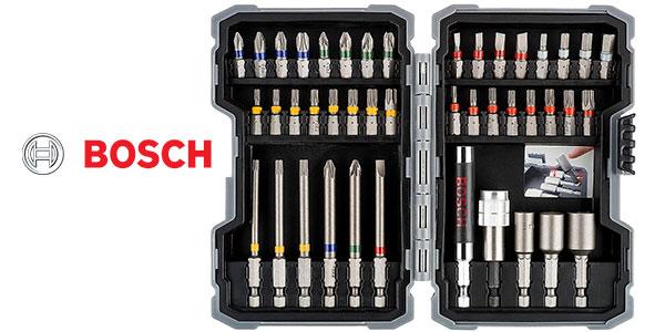 Set Bosch profesional de 43 puntas para atornillar y llaves de vaso barato