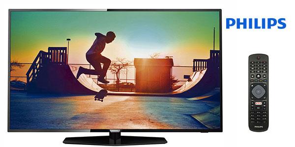 Smart TV Philips 50PUS6162 UHD 4K de 50 pulgadas barata