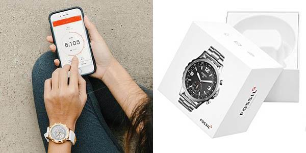 Smartwatches híbridos Fossil Q con descuento