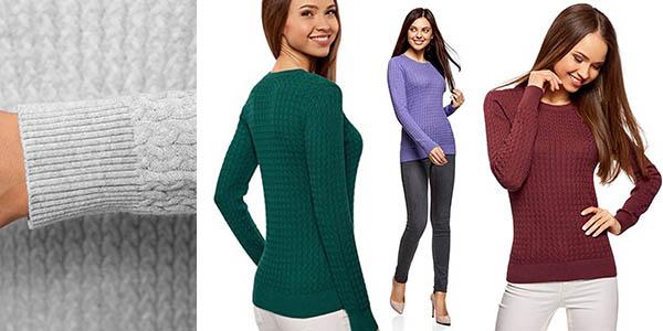 suéter lana fino para mujer versátil relación calidad-precio brutal