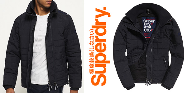 Superdry Quilted Athletic Windcheater cazadora impermeable hombre barata