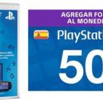 Tarjeta PlayStation Store 50€ barata