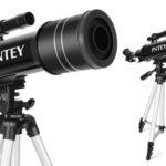Telescopio Intey Ultra-alto Claro De 70 mm con lentes intercambiables y mochila de transporte barato en Amazon