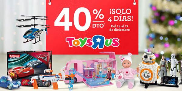 ToysRus con cupón descuento 15 diciembre 2017