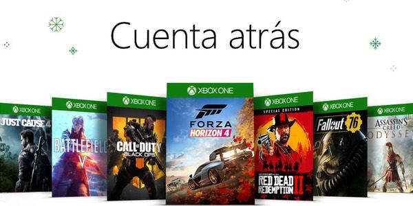 Ofertas en juegos de Xbox Navidad 2018