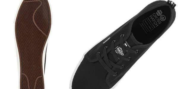 zapatillas casuales para uso diario Crosshatch Men's Evacuate Trainers chollo