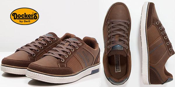 Zapatillas Dockers by Gerli 41tt002-610306 de cuero y estilo casual hombre al mejor precio
